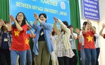 Sinh viên Đồng Tháp giao lưu cùng sinh viên Nhật