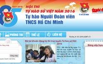"""Mở phòng ôn thi trực tuyến """"Tự hào sử Việt"""" 2016"""