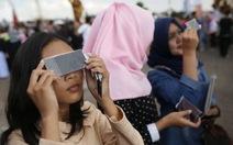 Người dân thế giới háo hức xem nhật thực