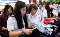 205 gian tư vấn tuyển sinh - hướng nghiệp đăng ký trong ngày đầu
