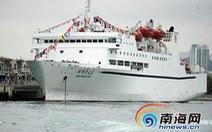 Trung Quốc lại đưa tàu du lịch trái phép đến Hoàng Sa