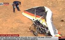 Máy bay rơi ở Úc, quay phim Cuộc đua kỳ thú thiệt mạng