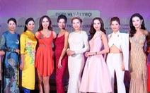 6 hoa hậu hội ngộ tại họp báo Hoa hậu Việt Nam