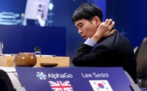 Nhà vô địch chịu thua siêu máy tính AlphaGo ở trận đấu thế kỷ