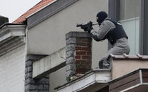 Truy quét nghẹt thở nghi can khủng bố ở thủ đô Bỉ