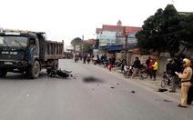 Xe tải tông xe gắn máy, ba người chết