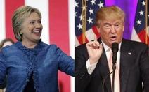 Ngày bầu cử Siêu thứ ba ở Mỹ: Ông Trump và bà Clinton áp đảo