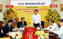 Bí thư Đinh La Thăng tìm nhà đầu tư cho sinh viên khởi nghiệp