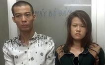 Đôi trai gái cướp điện thoại bị bắt nhờ camera hành trình