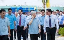 Tổng Bí thư thăm nhà máy chế biến dừa hiện đại nhất Bến Tre