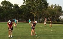 Sân golf VN:Điểm đến của học sinh Hàn Quốc