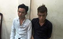 Cảnh sát hình sự tóm gọn 2 tên cướp giật túi xách du khách
