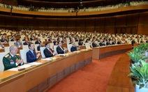 Kỳ họp cuối Quốc hội XIII dành 10,5 ngày kiện toàn nhân sự