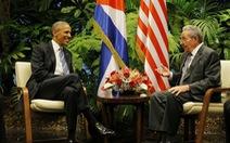 Ông Obama nói cấm vận Cuba không mang lại lợi ích gì