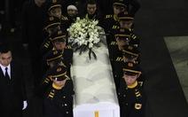 Clip lễ tang nhạc sĩ Thanh Tùng: xúc động cảnh vĩnh biệt