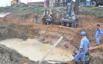 Đường ống nước sông Đà lại vỡ lần thứ 21