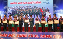 Tuyên dương 10 gương mặt trẻ tiêu biểu toàn quân 2015