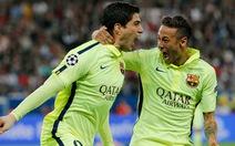 Suarez đối đầu Neymar