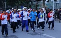 7.000 người tham gia ngày chạy Olympic tại hồ Hoàn Kiếm