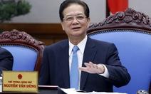 Thủ tướng nói lời chia tay: Đừng để dân tâm tư chuyện Biển Đông