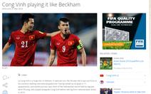 Điểm tin tối 27-3: Công Vinh được website FIFA so sánh với Beckham