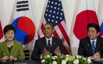 Mỹ - Nhật - Hàn cùng bàn vấn đề hạt nhân của Triều Tiên