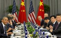 Lãnh đạo Mỹ-Trung trao đổi về tranh chấp ở biển Đông