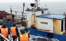 Truy bắt tàu Trung Quốc xâm phạm vùng biển chủ quyền của Việt Nam