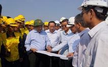 Phó Thủ tướng Nguyễn Xuân Phúc yêu cầu làm nhanh cầu Ghềnh