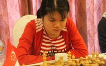 Thua trận, tuyển cờ vua nữ VN vẫn dẫn đầu