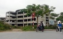 Trường THPT Trần Phú được tiếp tục hoàn thiện sau 3 năm bỏ hoang