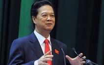 Quốc hội đồng ý miễn nhiệm Thủ tướng Nguyễn Tấn Dũng