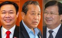 Trình phê chuẩn ba Phó thủ tướng, 18 bộ trưởng và thành viên Chính phủ