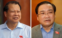 Trình miễn nhiệm hai phó Thủ tướng