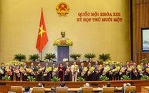 22 vị trí mới của Chính phủ