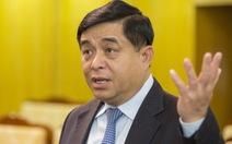 Tân Bộ trưởng Bộ Kế hoạch đầu tư: Không lùi bước trước khó khăn