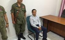 Dùng tài liệu biên giới giả với VN, nghị sĩ Campuchia bị bắt