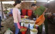 Lại phát hiện 5 tấn măng tươi tẩm bột lạ tại Đà Lạt
