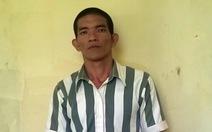 Phạm nhân tự thú giết người mua ve chai, chôn xác sau vườn