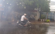 Mưa giải hạn ở thành phố Cà Mau