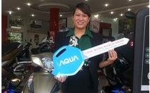 Bảo hành điện tử AQUA và 100 khách hàng trúng thưởng xe Honda Lead