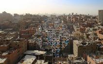 Ngắm nghệ thuật đường phố khổng lồ giữa thủ đô Ai Cập