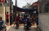 Tạm giữ nghi can khống chế con tin ở Nghệ An