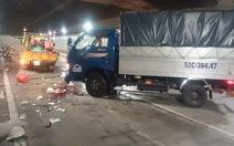 Bốn nạn nhân bị tông ở hầm Thủ Thiêm đã tạm ổn