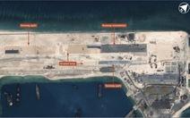 Phản đối Trung Quốc đưa máy bay quân sự xuống đá Chữ Thập