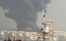 Nổ lớn, cháy dữ dội tại nhà máy hóa chất ở Trung Quốc