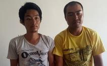 Hai người Trung Quốc dùng súng giả cướp tại Q.7, TP.HCM