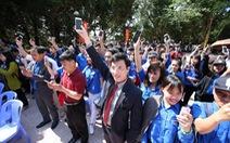 8.000 sinh viên đồng hành với đồng bào vùng hạn, mặn