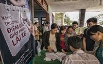 Đổi giấy phép lái xe tại chỗ cho người dân đảo Lý Sơn