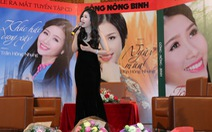 """Ca sĩ Trần Hồng Nhung ra 3 CD """"Công -Nông -Binh"""""""
